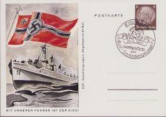 'Kriegsmarine' KdF-Sammlergruppen Postcard 1941
