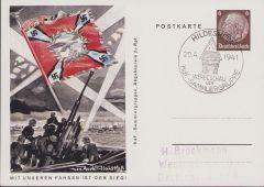 'Luftwaffe Flak' KdF-Sammlergruppen Postcard 1941