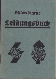 Named Hitler-Jugend Leistungsbuch (1936)