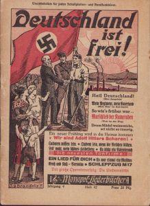 Rare Early 'Deutschland ist Frei' Liederbuch