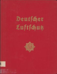 Deutsche Luftschutz 1934 Jahrbuch
