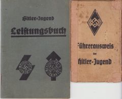 Hitler-Jugend Leistungsbuch + Führerausweis
