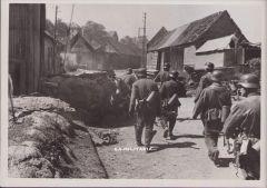 'Deutsche Offensive rollt' Press Photograph (1940)