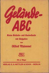 'Gelände-ABC' Terrain Instruction Booklet (1934)