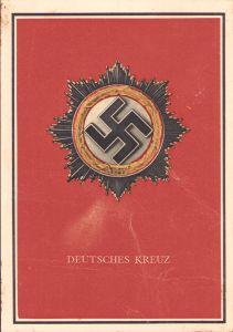 Deutsches Kreuz in Gold Postcard