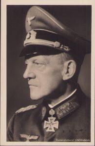 Ritterkreuzträger Postcard Generaloberst Lindemann