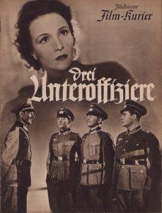 Period 'Drei Unteroffiziere' Movie Brochure