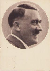 Adolf Hitler Propaganda Portrait Postcard (1938)