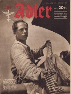 'Der Adler 1.Sept. 1942' Magazine