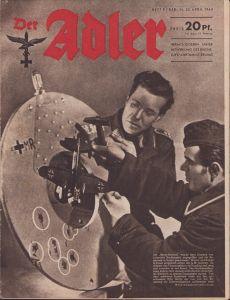 'Der Adler 25.April 1944' Magazine