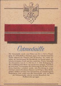 'Ostmedaille' Postcard