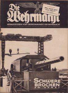 'Die Wehrmacht 6.Nov.1940' Magazine