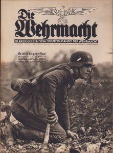 'Die Wehrmacht 27.März 1940' Magazine