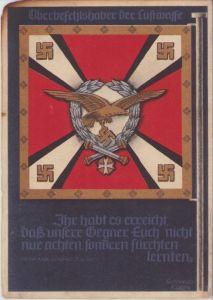 'Oberbefehlshaber der Luftwaffe' Postcard