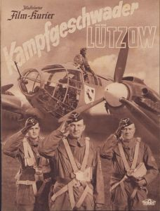 Period 'Kampfgeschwader Lützow' Movie Brochure