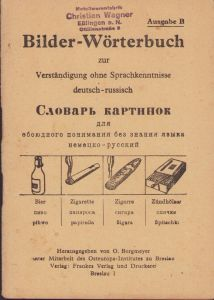 Deutsch-Russisch Bilder-Wörterbuch Ausgabe B