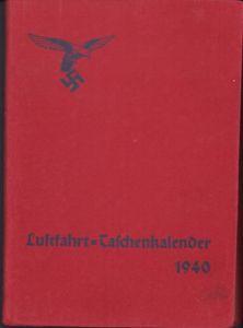 Luftschutz Luftfahrt Taschenkalender 1940
