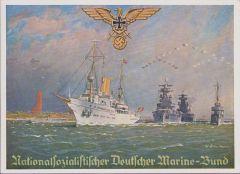 Nationalsozialistischer Deutscher Marinebund postcard