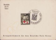 DRK Kriegshilfswerk Postcard