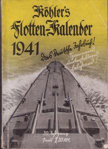 Marine Flotten-Kalender 1941