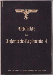 'Geschichte des Infanterie-Regiments 4' Book