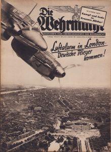 'Die Wehrmacht 11 September 1940' Magazine