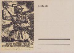 Landser Postcard Georg Sluyterman