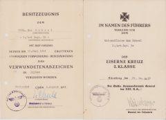 2./Art.Rgt.30 VWA/EKII Award Docs