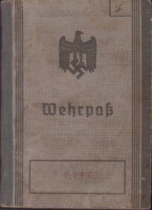 3./Art.Rgt.268 Wehrpass (KIA Russland)