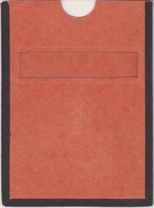 Rare NSKOV Document Sleeve