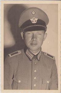 Schutzpolizei Wachtmeister Portrait