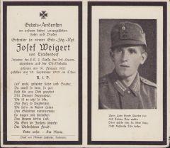 Gebirgsjäger Death Notice 1942 (EK2,ISA,Ost)
