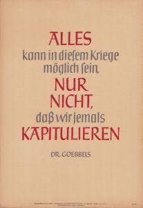 Wochenspruch der NSDAP (week 1, 1944)