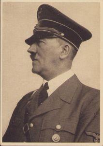 Adolf Hitler Propaganda Portrait Postcard (1943)