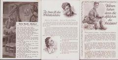 Set of 3 Wehrmacht Liederkarten