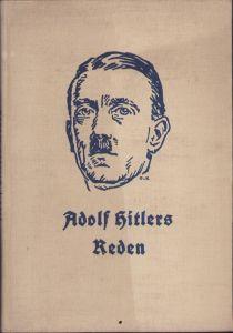'Adolf Hitlers Reden' Book 1934