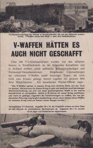 Flugblätter 'Die Letzte Geheimwaffe'