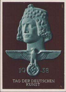 'Tag der Deutschen Kunst' Postcard 1938