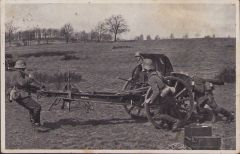 Feldartillerie Postcard (Inf.Rgt.134)