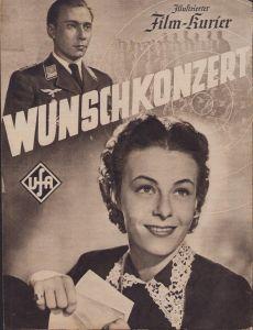 Period 'Wunschkonzert' Movie Brochure