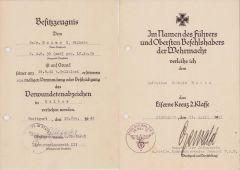 6./Art.Rgt.92 (mot) VWA/EKII Award Docs