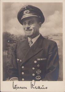 Ritterkreuzträger Postcard Werner Kraus