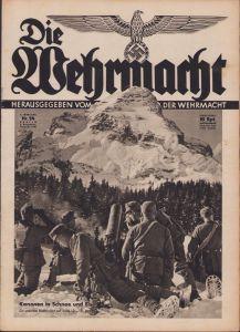 'Die Wehrmacht 2.December 1938' Magazine
