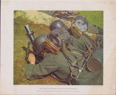 Kunstblätter 'Leichte Granatwerfer'