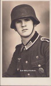 Unteroffizier Portrait with Rautarn Helmet (1941)