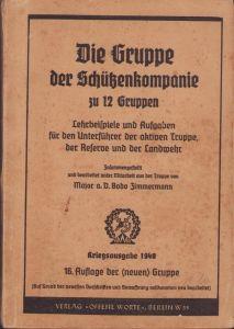'Die Gruppe der Schützenkompanie' Training Booklet
