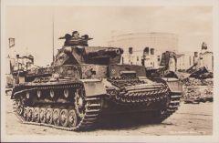 Panzer IV Unsere Wehrmacht Postcard