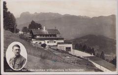 Hitler Landhaus Obersalzberg Postcard