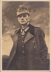 General Dietl Postcard