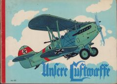 Rare 'Unsere Luftwaffe' Youth Book